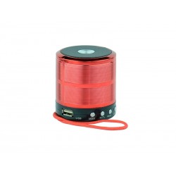 MINI SPEAKER WSTER WS-887 - USB - RADIO FM - BLUETOOTH - CARTAO TF