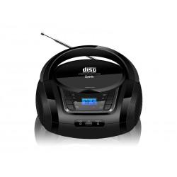 MICROSYSTEM QUANTA QTRPB431 - BLUETOOTH - RADIO FM - USB - PRETO