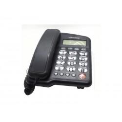 TELEFONE ROADSTAR COM FIO - RS-1130 - COM BINA - PRETO