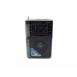 RADIO ECOPOWER EP-221 - BATERIA - USB - 3 BANDAS - CARTAO SD