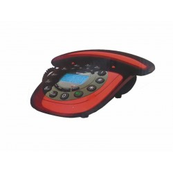 TELEFONE MEGASTAR COM FIO - BINA - FT-C12 - VERMELHO