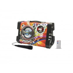 SPEAKER SATELLITE AS-391 - BLUETOOTH - RADIO FM - BIVOLT