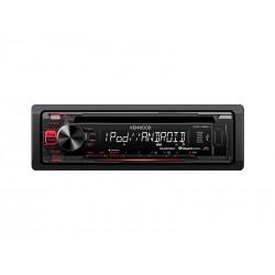 RADIO AUTOMOTIVO KENWOOD KDC-165U - USB - AUXILIAR - RCA - CONTROLE REMOTO