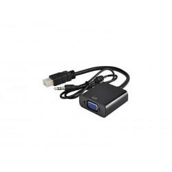 ADAPTADOR HDMI PARA VGA - MICROFINS
