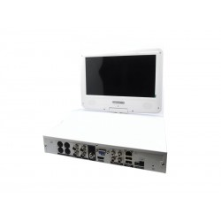 DVR LEVEL KIT - 4 CANAIS - 4 CAMERAS - HD - 10 POLEGADAS - NS-16560