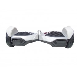 SCOOTER X-PLAY HZ8 - 7.5 POLEGADAS - SMART BALANCE- BLUETOOTH - SACOLA - PRATA