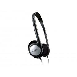 FONE PHILIPS SHP1800 - MP3 - IPOD - 6 METROS - ESTILO ARCO - PRETO