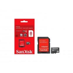 MEM SD MICRO SANDISK 2EM1 08GB