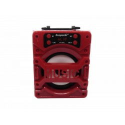 SPEAKER ECOPOWER EP-3849 - USB - MICRO SD - RADIO FM - BLUETOOTH