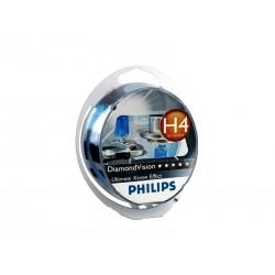 LAMPARA DIAMOND VISION PHILIPS H4 5000K