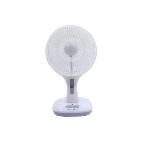 VENTILADOR ECOPOWER EP-100 - RECARGABLE - LED - LINTERNA