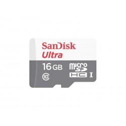 MEMORIA CLASSE 10 MICRO SD SANDISK - 16GB - 80MB/S