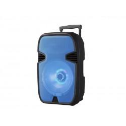 SPEAKER MOX MO-K416B - 15 POLEGADAS - RADIO FM - BLUETOOTH - CONTROLE - USB - AZUL