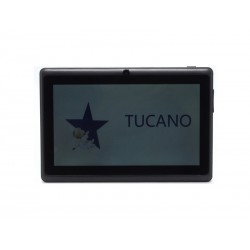 TABLET TUCANO DUAL CORE - 8GB - 2 CAMERAS - BIVOLT - PRETO