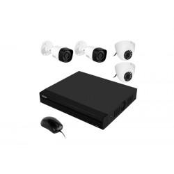 KIT DVR VISION BRAS HD8700 08CH/4CAM 720P
