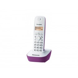 TELEFONE PANASONIC KX-TG1611 - BINA - ROXO