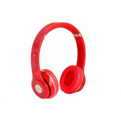 FONE DE OUVIDO TUCANO TC-BH012 - BLUETOOTH - TF - RADIO FM - VERMELHO