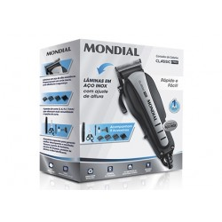 MAQUINA MONDIAL CORTA CABELO CR-03 220V