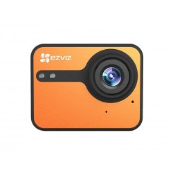 CAMERA XTREME EZVIZ ACTION CAMERA S1C - LARANJA