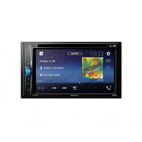 DVD CAR PIONEER AVH-A205BT - 6.2 POLEGADAS - USB - BLUETOOTH - CONTROLE