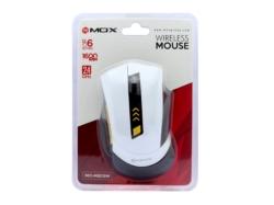 PC MOUSE SEM FIO MOX - MO-M809W - BRANCO