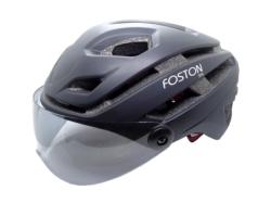 CASCO PARA BIKE FOSTON SP4 - CON VISEIRA
