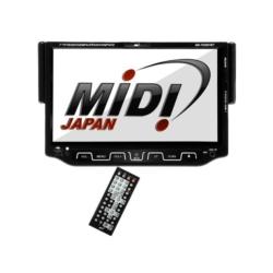DVD AUTOMOTIVO MIDI - MD-7025DVBT - TV - USB - SD - BLUETOOTH