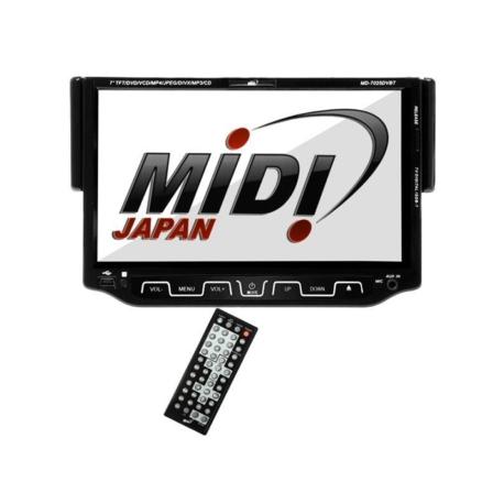 DVD CAR MIDI - MD-7025DVBT - TV - USB - SD - BLUETOOTH