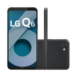 CELULAR LG Q6 - M-700A - 32GB - 2 CHIPS - 5.5 POLEGADAS - PRETO