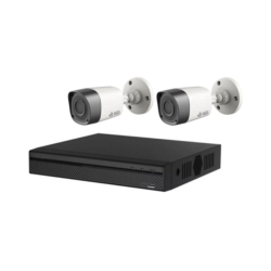 DVR VISION BRAS KIT - VB-HDCVI4200KIT - 2 CAMERAS - 4 CANAIS