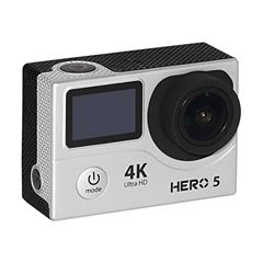 CAMARA XTREME GOALPRO HERO5 - WIFI - 4K HD - PLATEADO