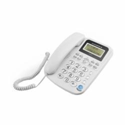 TELEFONE POWERPACK TEL-6034 - COM BINA - BRANCO