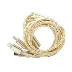 CABO USB CARREGADOR ECOPOWER - 3 EM 1 - EP-6036