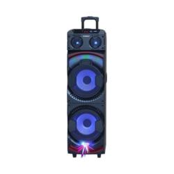 SPEAKER SATELLITE AS-6123 - 2 MICROFONE - SUB DE 10 POLEGADAS - BLUETOOTH