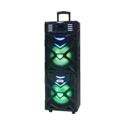 SPEAKER SATELLITE AS-6122 - 2 MICROFONE - SUB DE 10 POLEGADAS - BLUETOOTH