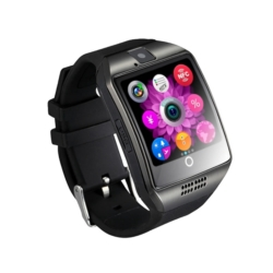 RELOGIO CELULAR SMART WATCH - CHIP - PRETO - QUADRADO