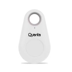 CHAVEIRO RASTREADOR QUANTA - BLUETOOTH - QTCHB20 - BRANCO