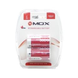 PILHA RECARREGAVEL MOX - C - 3600 MAH - MOB2C36