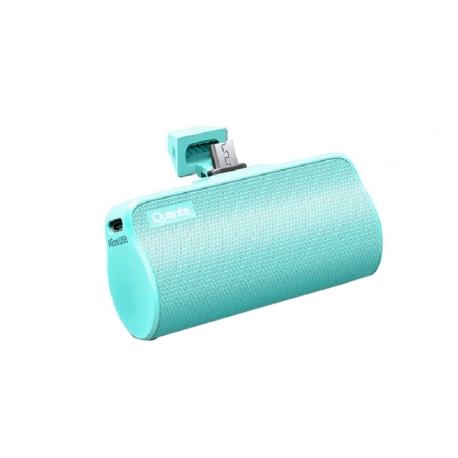 BATERIA AUXILIAR QUANTA QTCPT6500 - MICRO USB - 5V - VERDE