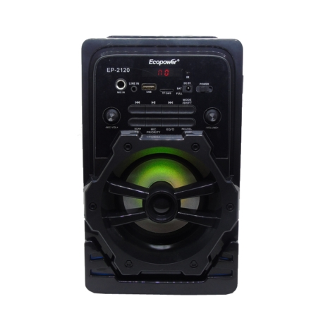 SPEAKER ECOPOWER EP-2120 - USB - SD - FM - CONTROLE