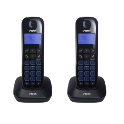 TELEFONE VTECH VT685-2 - BINA - 6.0 - BIVOLT - PRETO