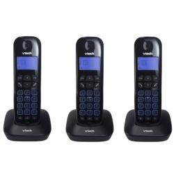 TELEFONE VTECH VT685-3 - BINA - 6.0 - BIVOLT - PRETO