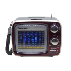 RADIO ECOPOWER EP-136 - BATERIA - USB - SD - BLUETOOTH