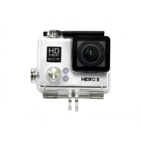 CAMERA XTREME MIDIPRO HERO2 MD-CAM02 - KIT - PRATA
