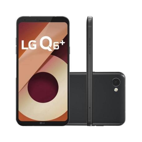 CELULAR LG Q6+ M700A - 64GB - 5.5 POLEGADAS - 2 CHIPS - PRETO