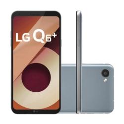 CELULAR LG Q6+ M700A - 64GB - 5.5 POLEGADAS - 2 CHIPS - PLATINIUM