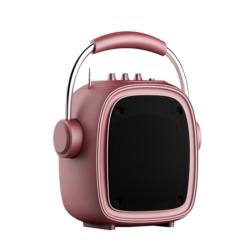 SPEAKER KOLKE KPM-258 - BLUETOOTH - USB - ROSA