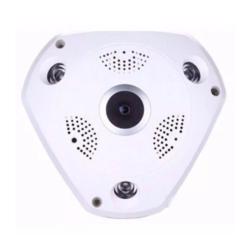 CAMERA IP SATELLITE - A-IP104 - VR CAM - 360 GRAUS - BRANCA - HD