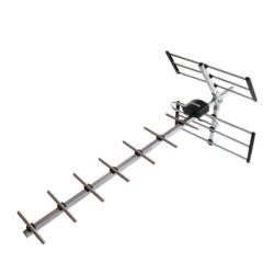 ANTENA PARA TV DIGITAL QUANTA - UHF - QTANTO3000 - EXTERNA