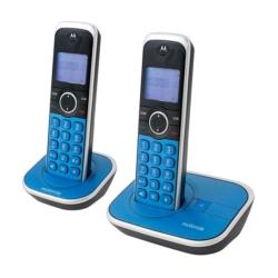 TELEFONE MOTOROLA GATE4800R-2 - BINA - 2 TELEFONES - BIVOLT - AZUL